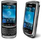 BlackBerry Torch 9800 4GB 3G WIFI GPS 5MP Unlocked Cell Phone Black