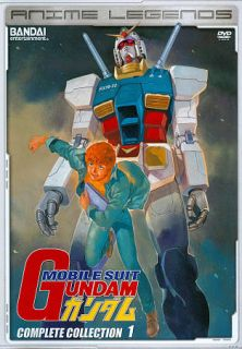 Mobile Suit Gundam Complete Collection 1 DVD, 2011, 4 Disc Set