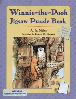 Winnie the Pooh Jigsaw Puzzle Book by A. A. Milne 2004, Hardcover