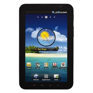 Samsung i800 Galaxy Tab Android Verizon Wireless WiFi Camera Tablet