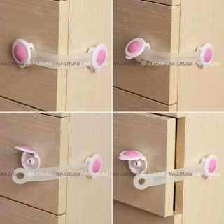 Bendy Door Drawers Fridge Cabinet Safety Lock For Child Kids Baby New