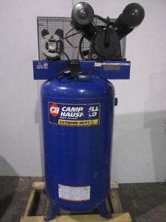 Campbell Hausfeld 5hp 80 Gallon Vertical Air Compressor V Twin Pump