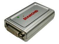 Diamond Multimedia BVU195 BizView 195 USB Video Card   External DVI