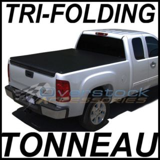Ford F150 Super Crew 5.5 ft Short Bed TRI FOLD Tonneau Cover 2004 2008