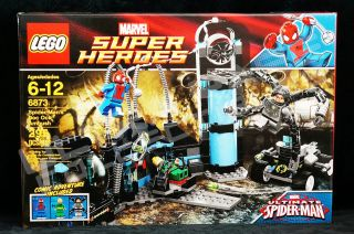 LEGO MARVEL SUPER HEROES   SPIDER MANS DOC OCK AMBUSH 6873