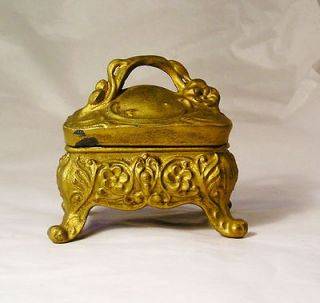 VINTAGE OR ANTIQUE ART NOUVEAU JEWELRY BOX S11