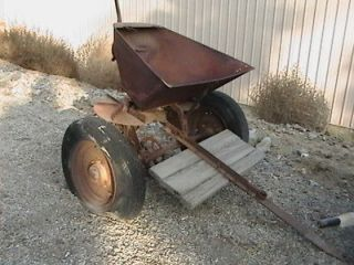 Antique Farm Equipment Horse Drawn Spreader?