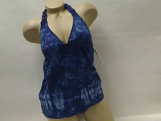 HIPPIE CHICK NEAT TIE DYE 2 PC LUCKY BRAND SWIMSUIT TANKINI S M NEW