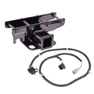11580.51 2 Rear Receiver Hitch Kit and Wire Harness Jeep Wrangler