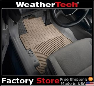 WeatherTech® All Weather Floor Mats   Honda Civic   2006 2011   Sedan