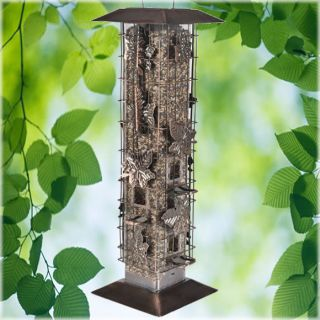 WOODSTREAM CORP Squirrel Be Go​ne Wild Bird Feeder, With 6 Feeding