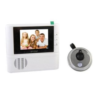 LCD Monitor Digital Door Peephole Viewer 3x Zoom Camera Photo Cam