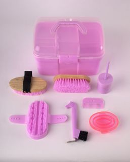 Childrens Complete Horse Grooming Box Kit
