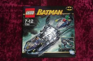 Newly listed LEGO 7780 The Batboat Hunt for Killer Croc (NEW) 2006