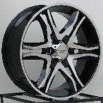 20 Inch Black Wheels Rims Ford Truck F150 Expedition Lincoln Navigator