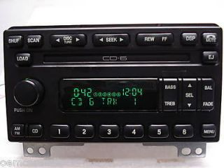 Ford Expedition Radio 6 Disc Changer CD Player Stereo OEM (Fits Ford