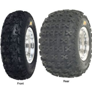 YAMAHA RAPTOR 250 FRONT & REAR WHEEL RIM TIRE KIT COMBO