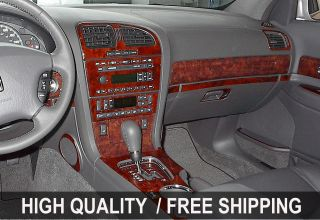 Ram 98 01 INTERIOR WOOD GRAIN DASHBOARD DASH KIT TRIM PARTS TYT45