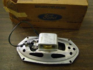 NOS 1967   1973 Ford Galaxie Station Wagon Rear Speaker 1968 1969 1970