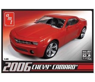 AMT 631 MODEL KIT 2006 Chevy Camaro Concept Car GMS CUSTOMS HOBBY