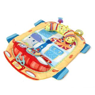 Starts Tummy Time Cruiser Car Prop and Play Activity Mat Gym NIB NEW