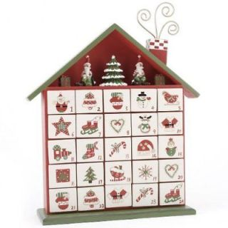 Advent Calendar wooden boxes Christmas Ornament decoration