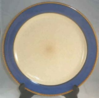 Sango Dinnerware Rainbow Blue #8883 China Dinner Plate 11 EUC