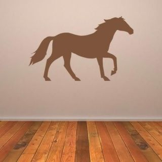 Horse childrens wall art sticker decal bedroom decor transfer AN008