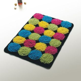 Multi Colored Rectangle Cupcake Kids Room Rug Floor Mat 15.7 x 23.6
