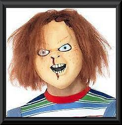 CHUCKY MASK, CHILDS PLAY MASK, LATEX HALLOWEEN MASK, HORROR MOVIE
