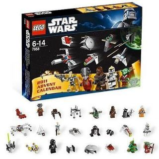 LEGO STAR WARS ADVENT CALENDAR 7958 CHRISTMAS 2011 EXCLUSIVE YODA SET