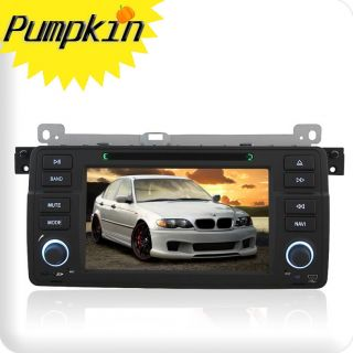 Car Radio CD DVD  Player W/GPS Bluetooth BMW 3 Series E46 330 M3