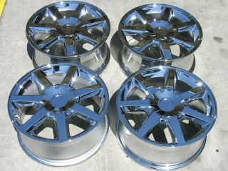 CADILLAC CTS STS CHROME WHEELS RIMS 17 H 4588