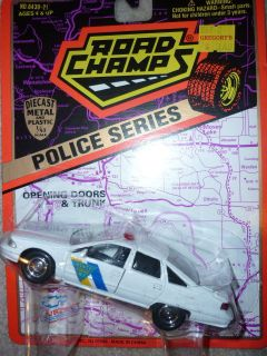 Jersey NJ State Trooper Road Champs Chevy Caprice 1996 5 1/43 diecast