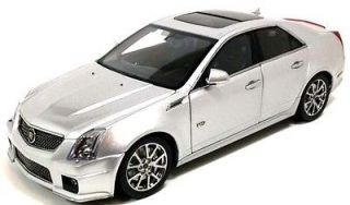 Cadillac CTS V Sedan in Radiant Silver 118 Scale Diecast Kyosho G002S