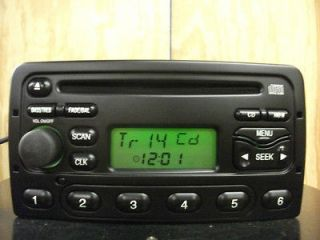 Ford Focus Cougar factory AM/FM CD player radio 98 99 00 01 02 03 3S41
