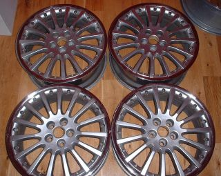 SINGLE 18 Jaguar Indianapolis X Type alloy wheel (1 of 2 available)