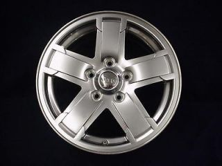 JEEP GRAND CHEROKEE OVERLAND 06 17 5 SPOKE SATIN CHROME CLAD