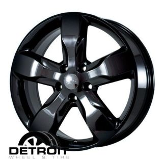JEEP GRAND CHEROKEE 2011 2013 PVD Black Chrome Wheels Rims Factory