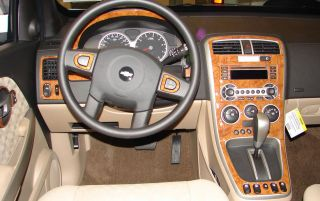 Land Rover Range Rover 03 06 Interior Wood Pattern Dash Kit Trim