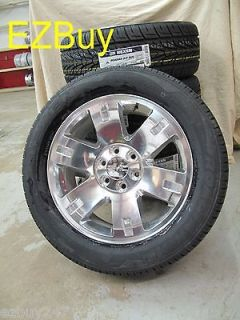 20 GMC Yukon Sierra Brand New Factory Style Polished Wheels Nexen