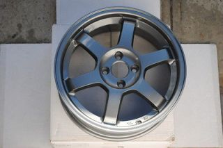 16 GRID GUNMETAL WHEELS RIMS HONDA CIVIC EG EK EF COUPE HATCH TYPE R