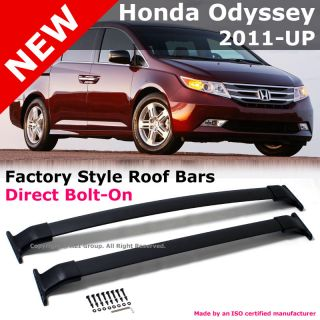 Honda Odyssey 11 12 Black Top Roof Carrier Rack Cross Bar Replacement
