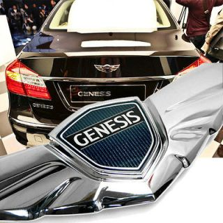 HYUNDAI GENESIS Wing Tail Rear Emblems Genuine Sedan 2009 2010 2011