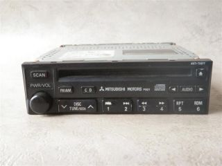 01 02 MITSUBISHI ECLIPSE AM FM Radio Stereo CD Player MR337269 CQ