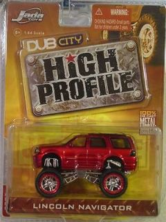 Lincoln Navigator Jada Dub City High Profile 1/64
