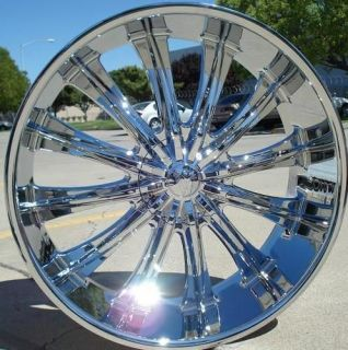 lincoln navigator 24 inch chrome rims