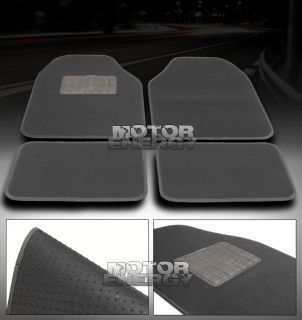 FLOOR MAT CARPET JDM GREY NISSAN PONTIAC SCION TC SUBARU TOYOTA VW GTI