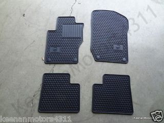 Genuine OEM Mercedes Benz M GL Class X164 W164 Black All Season Floor