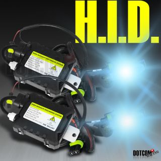H3 8000K SKY BLUE SLIM BALLAST HEADLIGHT HID CONVERSION YUKON XL KIT